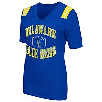 Women's Campus Heritage Delaware Blue Hens Distressed Artistic Tee