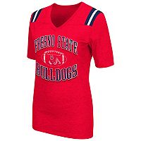 Women's Campus Heritage Fresno State Bulldogs Distressed Artistic Tee