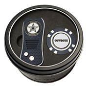Team Golf Dallas Cowboys Switchfix Divot Tool & Golf Chip Set