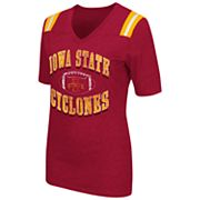 Women's Campus Heritage Iowa State Cyclones Distressed Artistic Tee