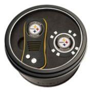 Team Golf Pittsburgh Steelers Switchfix Divot Tool & Golf Chip Set