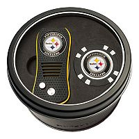 Team Golf Pittsburgh Steelers Switchfix Divot Tool & Golf Chip Set