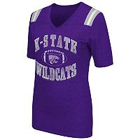 Women's Campus Heritage Kansas State Wildcats Distressed Artistic Tee