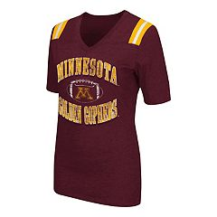 Women's Campus Heritage Minnesota Golden Gophers Distressed Artistic Tee