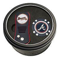 Team Golf Atlanta Braves Switchfix Divot Tool & Golf Chip Set