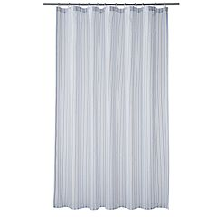 Home Classics® Montauk Stripe Woven Shower Curtain