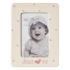 Precious Moments 'Jesus Loves Me' Pink 4' x 6' Frame