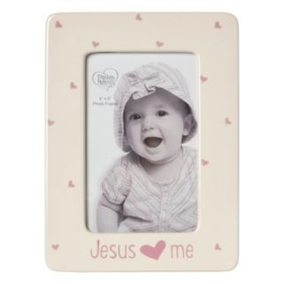 "Precious Moments ""Jesus Loves Me"" Pink 4"" x 6"" Frame"