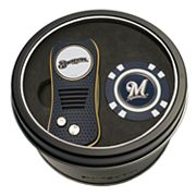 Team Golf Milwaukee Brewers Switchfix Divot Tool & Golf Chip Set