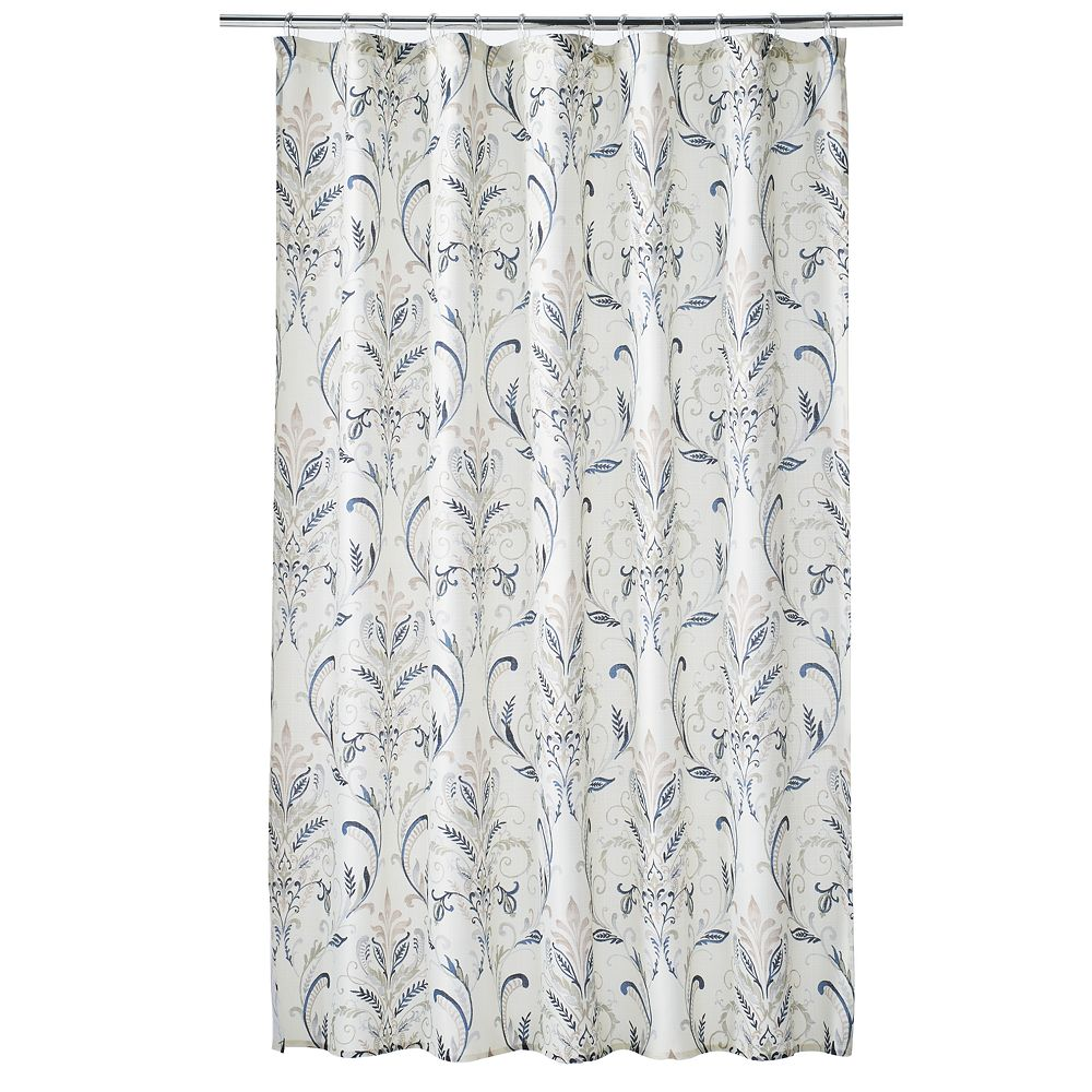Classics® Watercolor Damask Shower Curtain