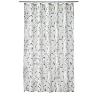 Home Classics® Watercolor Damask Shower Curtain
