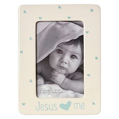 Precious Moments 'Jesus Loves Me' Blue 4' x 6' Frame