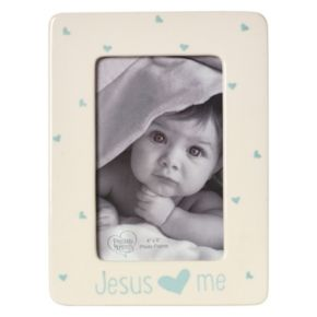 "Precious Moments ""Jesus Loves Me"" Blue 4"" x 6"" Frame"