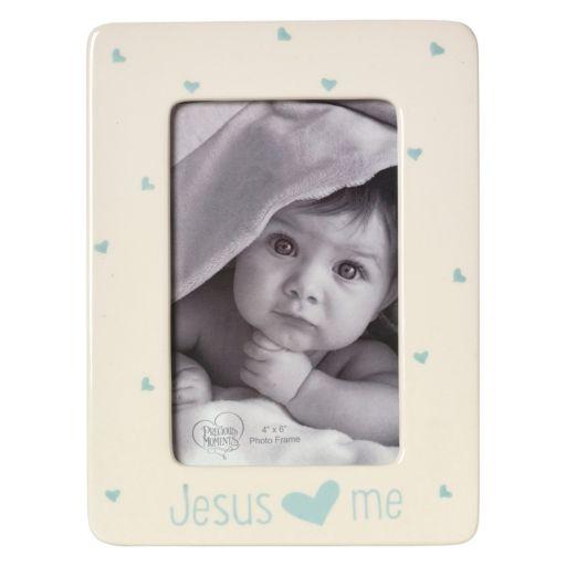 "Precious Moments ""Jesus Loves Me"" Blue 4"" x 6"" Frame"