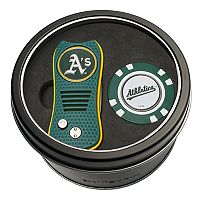 Team Golf Oakland Athletics Switchfix Divot Tool & Golf Chip Set