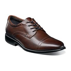 Nunn Bush Dixon Men's Cap Toe Oxford Dress Shoes
