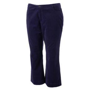 LC Lauren Conrad Runway Collection Wide-Leg Ankle Corduroy Pants - Plus Size