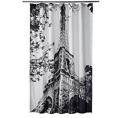 Home Classics® Paris Noir Shower Curtain