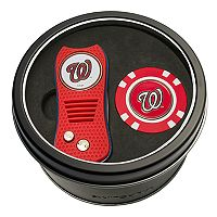 Team Golf Washington Nationals Switchfix Divot Tool & Golf Chip Set