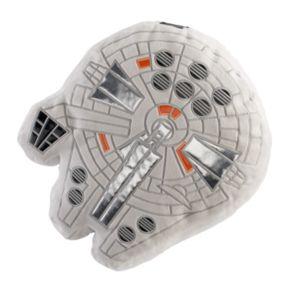 Star Wars: Episode VIII The Last Jedi Millennium Falcon Throw Pillow