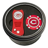 Team Golf Cincinnati Reds Switchfix Divot Tool & Golf Chip Set
