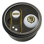 Team Golf Boston Bruins Switchfix Divot Tool & Golf Ball Set