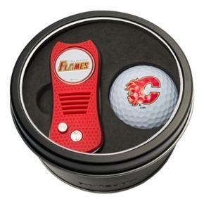 Team Golf Calgary Flames Switchfix Divot Tool & Golf Ball Set