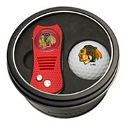 Team Golf Chicago Blackhawks Switchfix Divot Tool & Golf Ball Set
