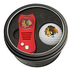 Team Golf Chicago Blackhawks Switchfix Divot Tool & Golf Ball Set