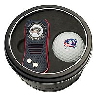 Team Golf Columbus Blue Jackets Switchfix Divot Tool & Golf Ball Set