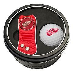 Team Golf Detroit Red Wings Switchfix Divot Tool & Golf Ball Set