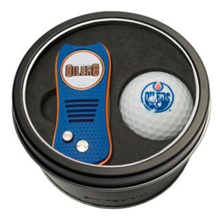 Team Golf Edmonton Oilers Switchfix Divot Tool & Golf Ball Set