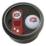 Team Golf Montreal Canadiens Switchfix Divot Tool & Golf Ball Set