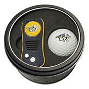 Team Golf Nashville Predators Switchfix Divot Tool & Golf Ball Set