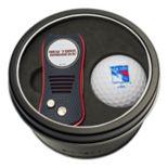 Team Golf New York Rangers Switchfix Divot Tool & Golf Ball Set