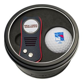 Team Golf New York Rangers Switchfix Divot Tool & Golf Ball Set