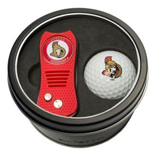 Team Golf Ottawa Senators Switchfix Divot Tool & Golf Ball Set