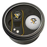 Team Golf Pittsburgh Penguins Switchfix Divot Tool & Golf Ball Set