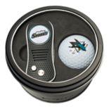 Team Golf San Jose Sharks Switchfix Divot Tool & Golf Ball Set
