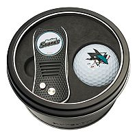 Team Golf San Jose Sharks Switchfix Divot Tool & Golf Ball Set