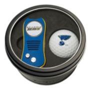 Team Golf St. Louis Blues Switchfix Divot Tool & Golf Ball Set