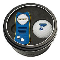 Team Golf St. Louis Blues Switchfix Divot Tool & Golf Ball Set