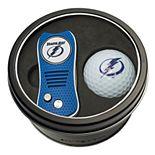 Team Golf Tampa Bay Lightning Switchfix Divot Tool & Golf Ball Set