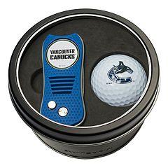 Team Golf Vancouver Canucks Switchfix Divot Tool & Golf Ball Set