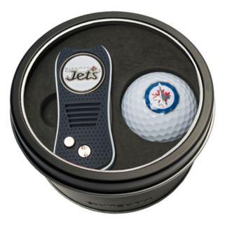 Team Golf Winnipeg Jets Switchfix Divot Tool & Golf Ball Set