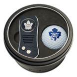 Team Golf Toronto Maple Leafs Switchfix Divot Tool & Golf Ball Set