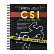 Brain Games CSI Book by Publications International, Ltd.