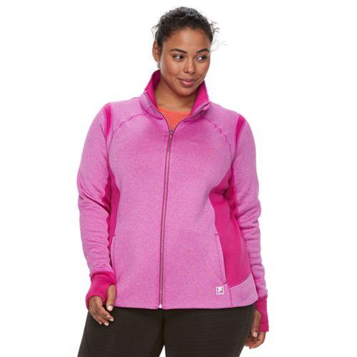 Plus Size FILA SPORT® Saltare Fleece Jacket