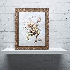 Trademark Fine Art 'Coffea Arabica' Ornate Framed Wall Art