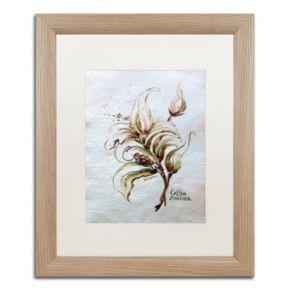 "Trademark Fine Art ""Coffea Arabica"" Distressed Framed Wall Art"